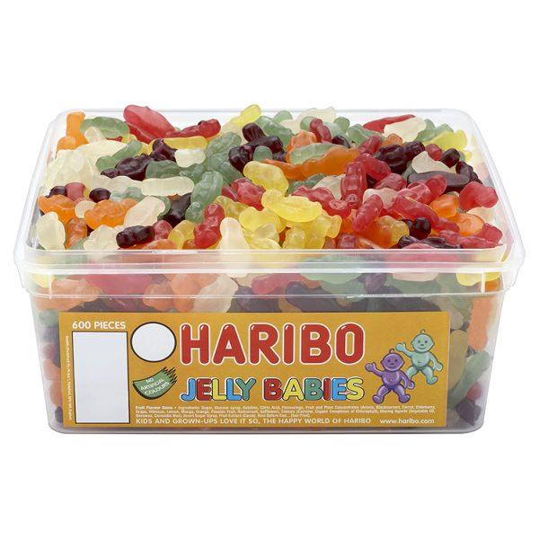 Haribo Mini Jelly Babies Wholesale Tub