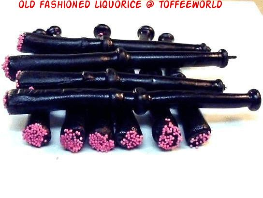 Old Fashioned Liquorice Pipes