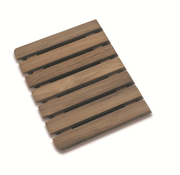 Kitchen Sink Draining Board Dark Wood