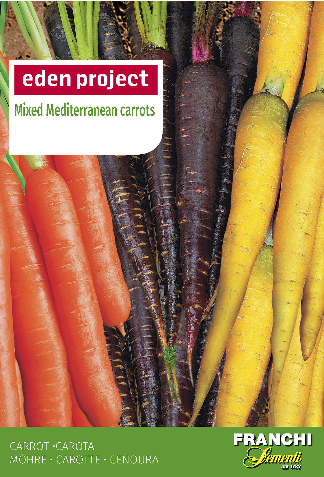 mixed mediterranean orange carrots orange purple yellow daucus carota. Black Bedroom Furniture Sets. Home Design Ideas