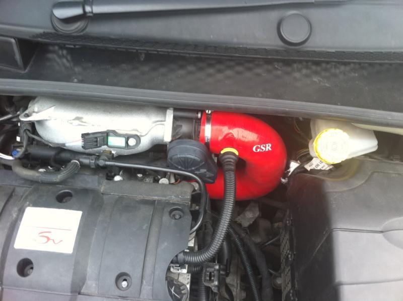 Honda Fit Ex >> Citroen C2 GSR induction kit