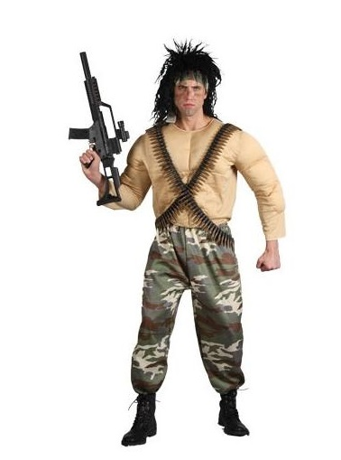 Rambo Costume Ideas Rambo Halloween Wigs -...