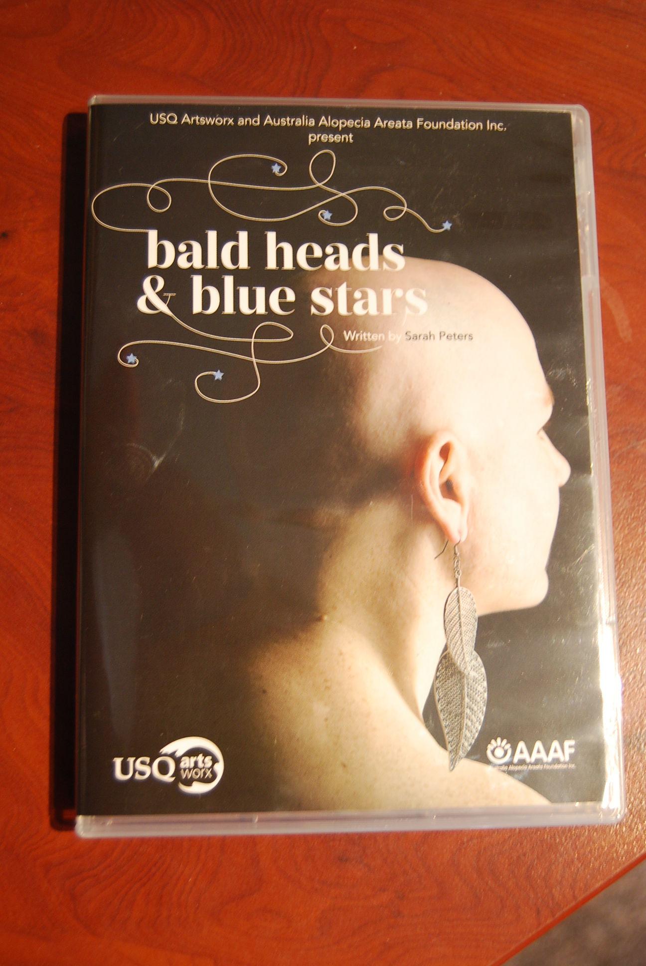 Bald heads & blue stars DVD