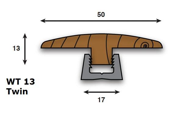 Premium European Solid Oak Door Thresholds 3m Long Door Strips