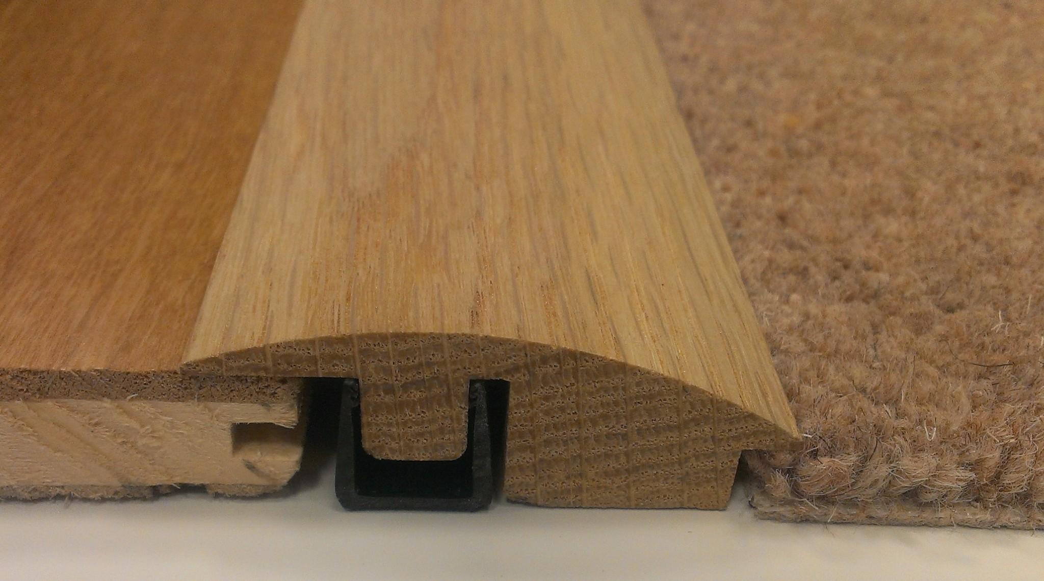 Solid Oak Door Threshold T Bar 0 9m Or 2 4m Door Strip