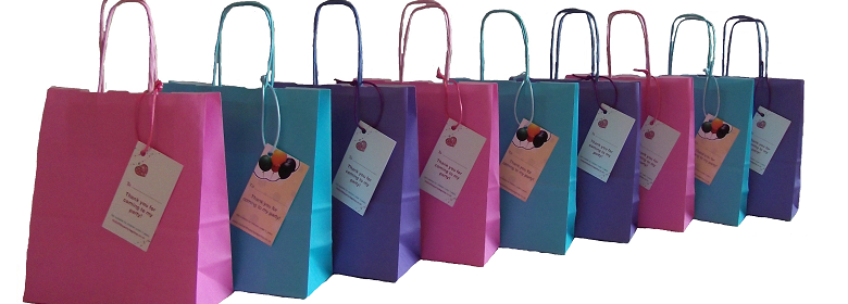 Beautiful Fabric Party Bags