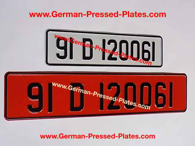 retro irish number plates pressed small front and oblong. Black Bedroom Furniture Sets. Home Design Ideas