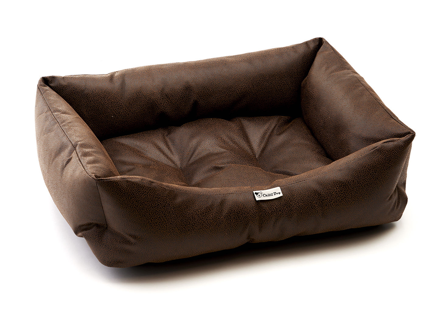 Chilli Dog Cotton Bed Antique Brown Faux Leather : 1490108849929blackbrownfauxleather from www.thebritishpetbedcompany.co.uk size 1440 x 1080 jpeg 1111kB