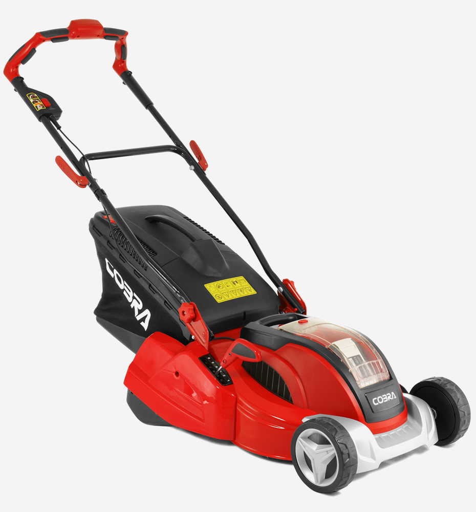 Cobra Rm4140v 16 Quot Li Ion 40v Cordless Rear Roller Mower