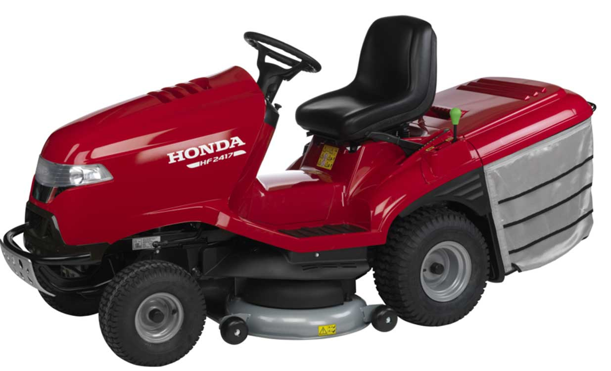 honda hf 2417 hb hydrostatic lawn tractor rrp 3999. Black Bedroom Furniture Sets. Home Design Ideas