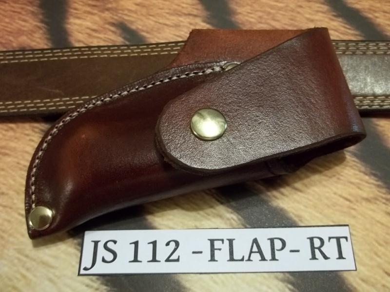 JS112-FLAP03-RT Custom Knife Sheath for Buck 112