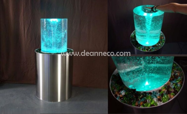 Vortex Fountain For Home Office Business Area Or Outdoor Use