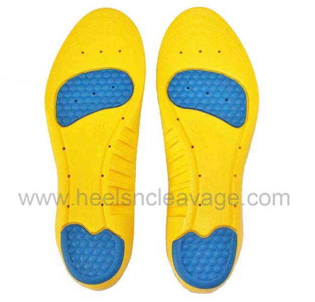 Arch insoles for running shoes