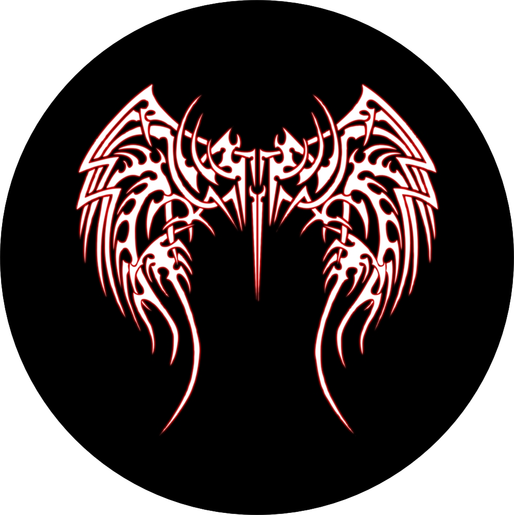 Tribal Art Angel Wings Spare Tire Cover