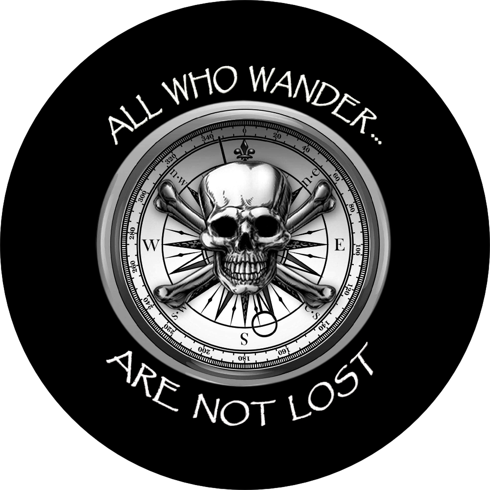 All Who Wander Spare Tire Cover
