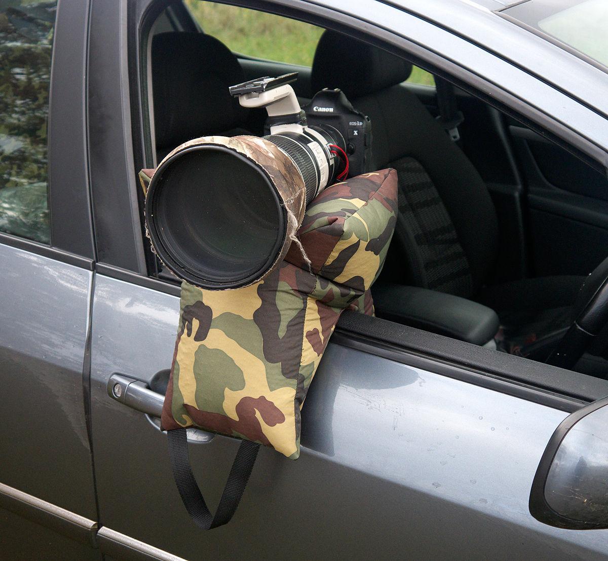 Grappler Camera Bean Bag Army