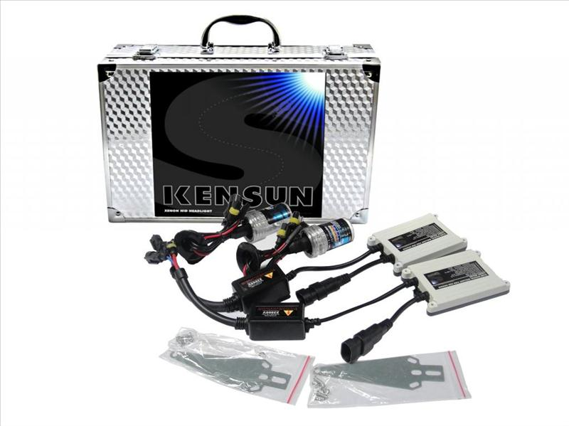 55w 9006 kensun hid xenon lights single beam conversion kit. Black Bedroom Furniture Sets. Home Design Ideas