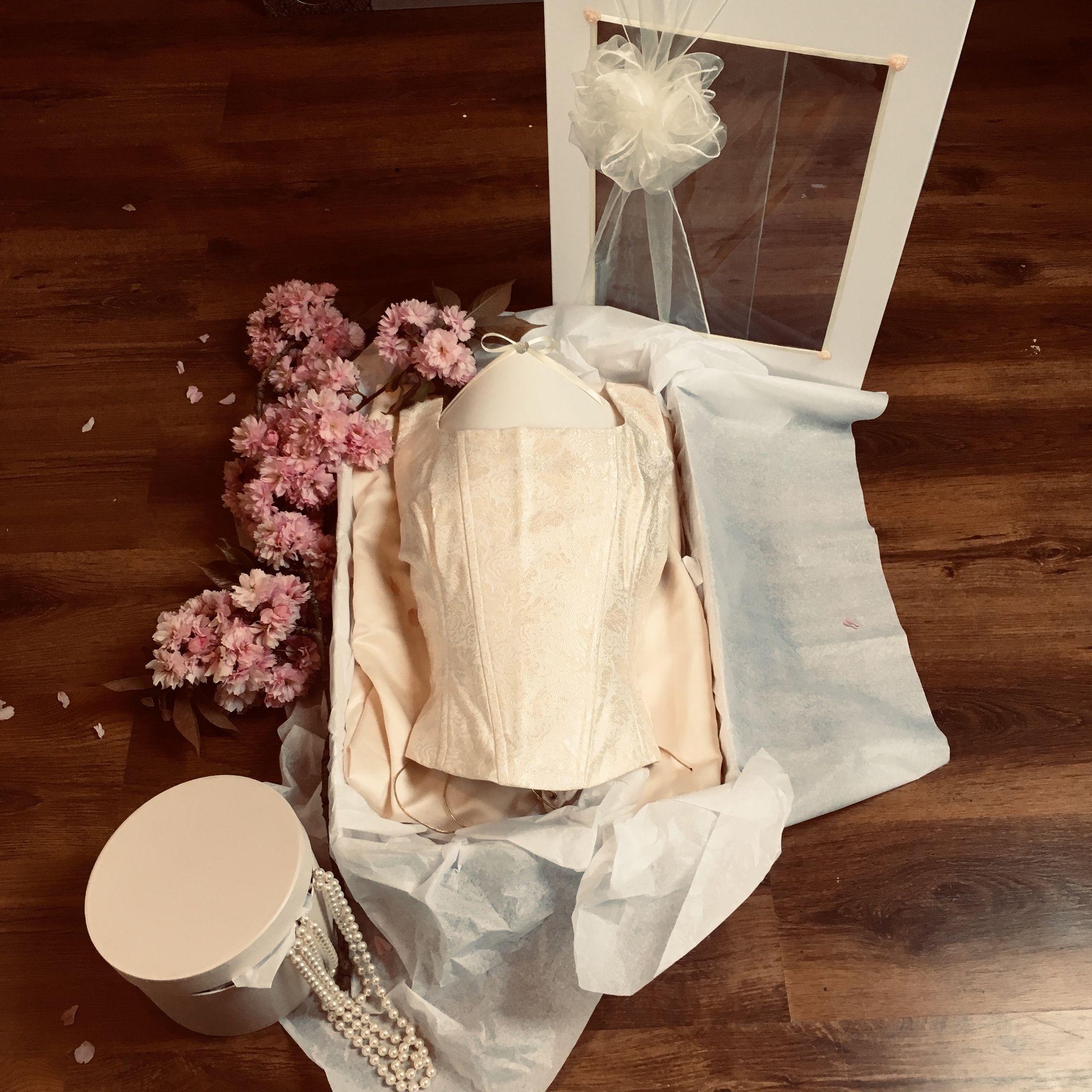 Large Wedding Window Storage Box