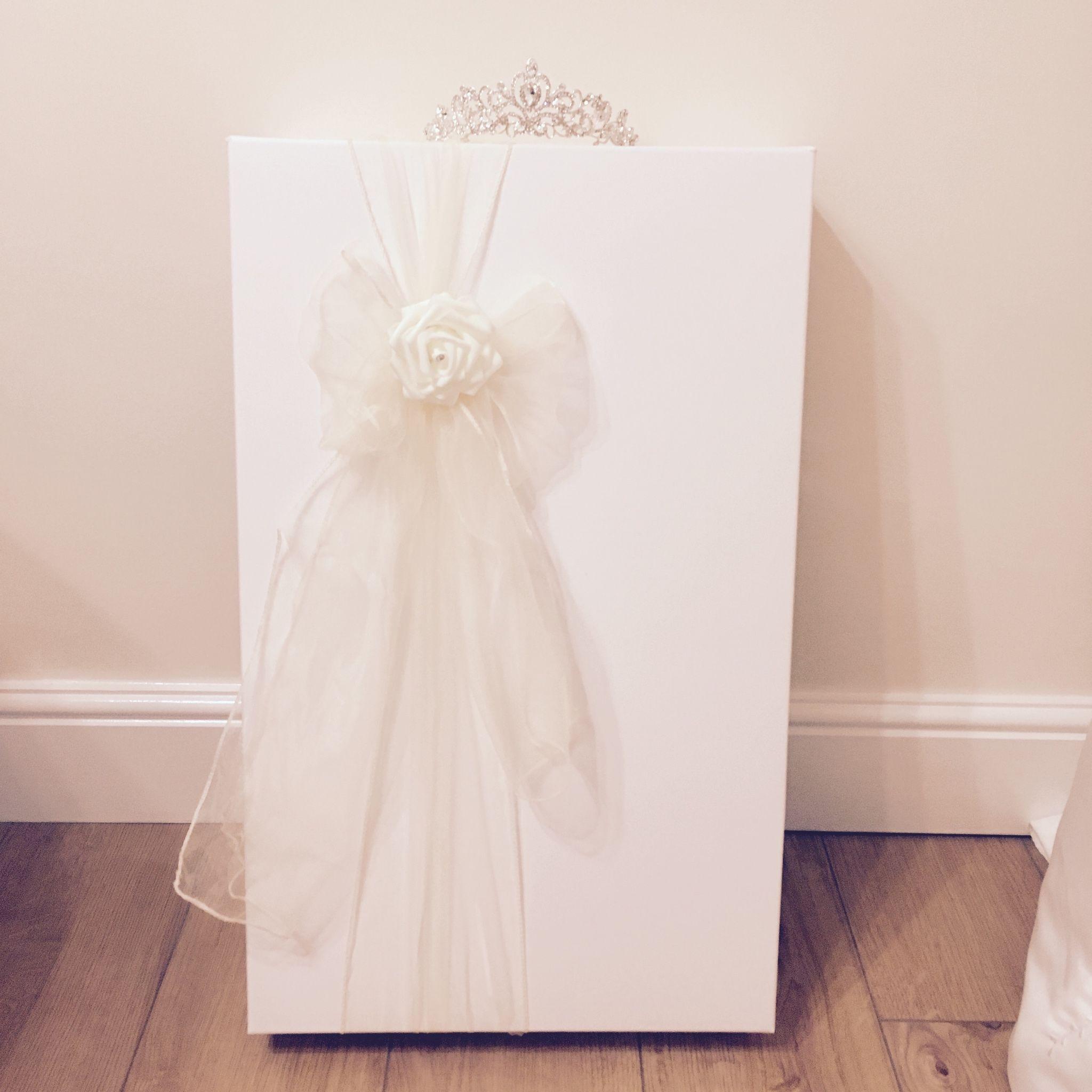 Ivory Rose Large Wedding Dress Storage Box