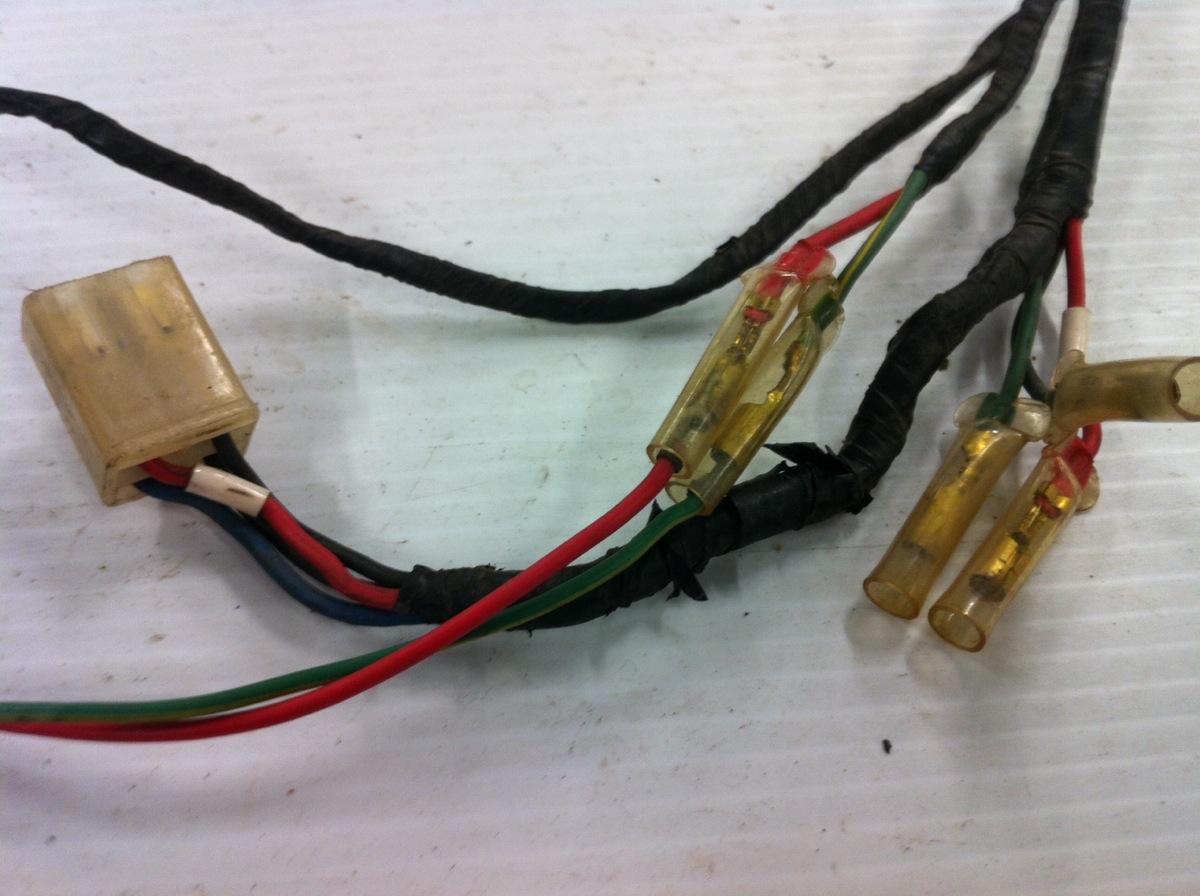 1972 73 Honda Ct70 K1 K2 Main Wire Harness Wiring
