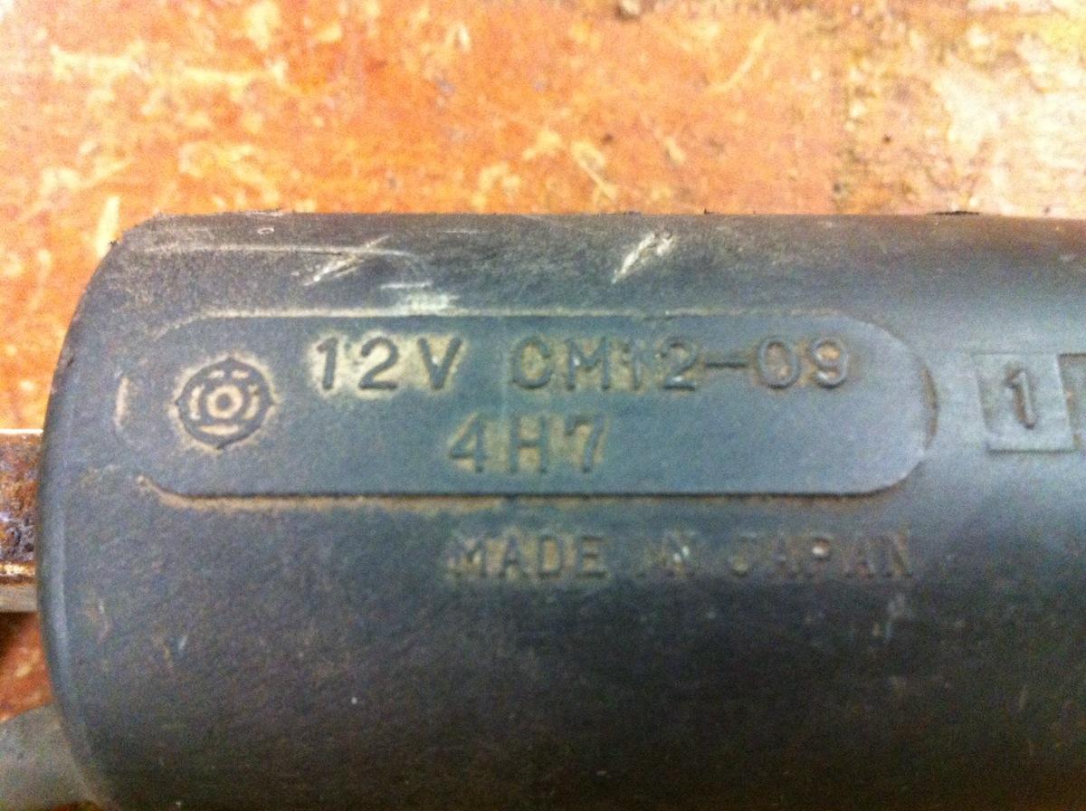 1981-83 Yamaha XJ650 XJ750 Maxim Seca CM12-09 Ignition Coil Cylinders 1 & 4