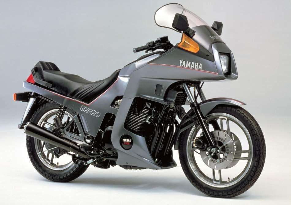 1982 Yamaha XJ650 Seca Turbo Parts
