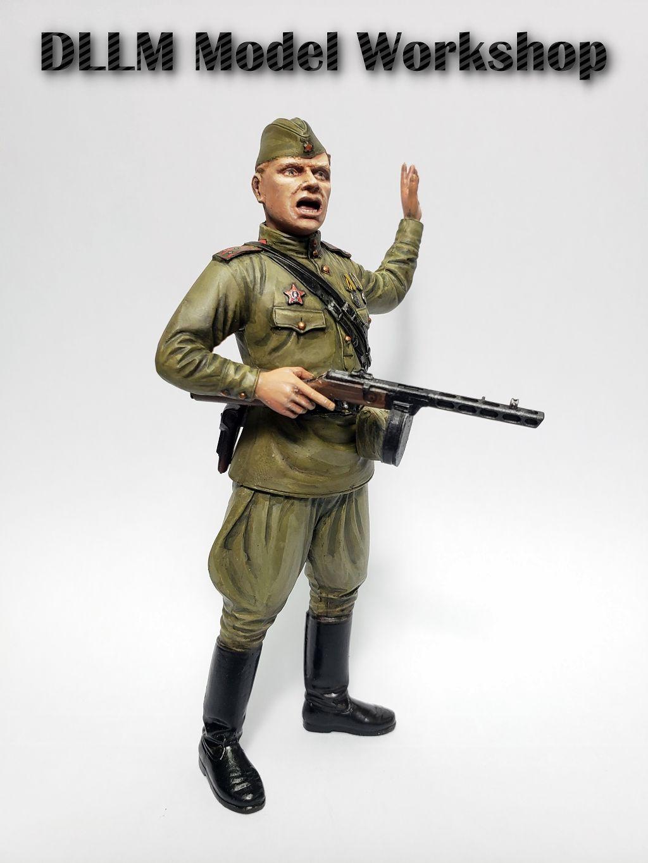 [Tamiya] Painted 1/16 WW2 Russian Field Commander