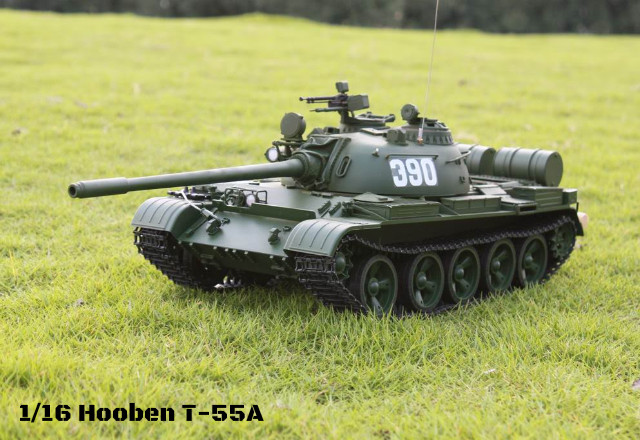 9911160d28c4 1 16 Hooben New Soviet Medium Tank T-55A