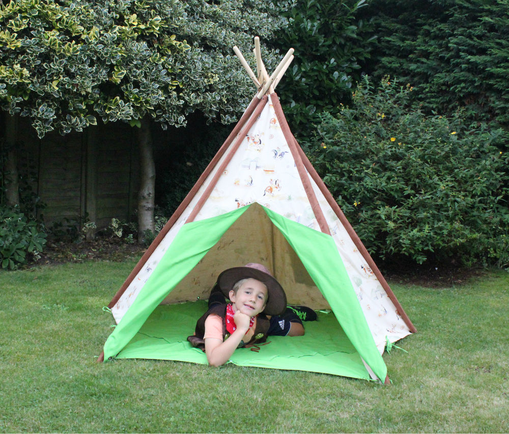 Cowboy Wigwam Teepee  sc 1 st  TableDens.Com & Kids wigwams teepees ideal birthday present