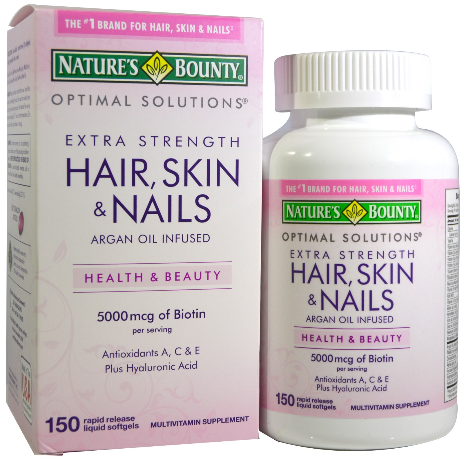 Nature's Bounty, Hair, Skin & Nails, 150