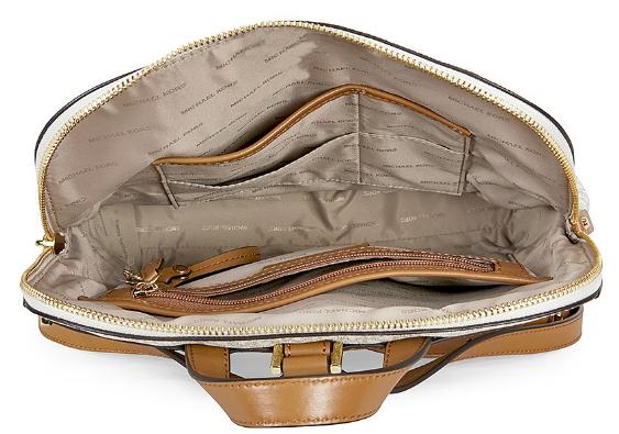 2aaf79acdb6d MICHAEL KORS Rhea Medium Slim Backpack - Vanilla