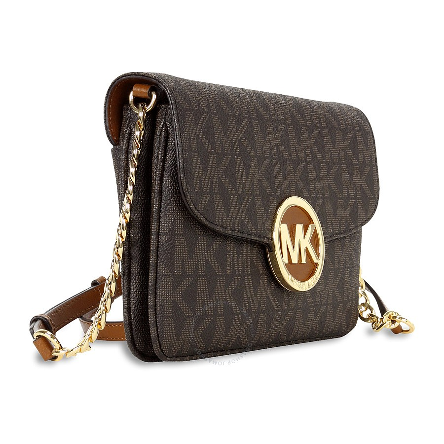 9165c2a5af57 MICHAEL KORS Fulton Crossbody Bag - Brown