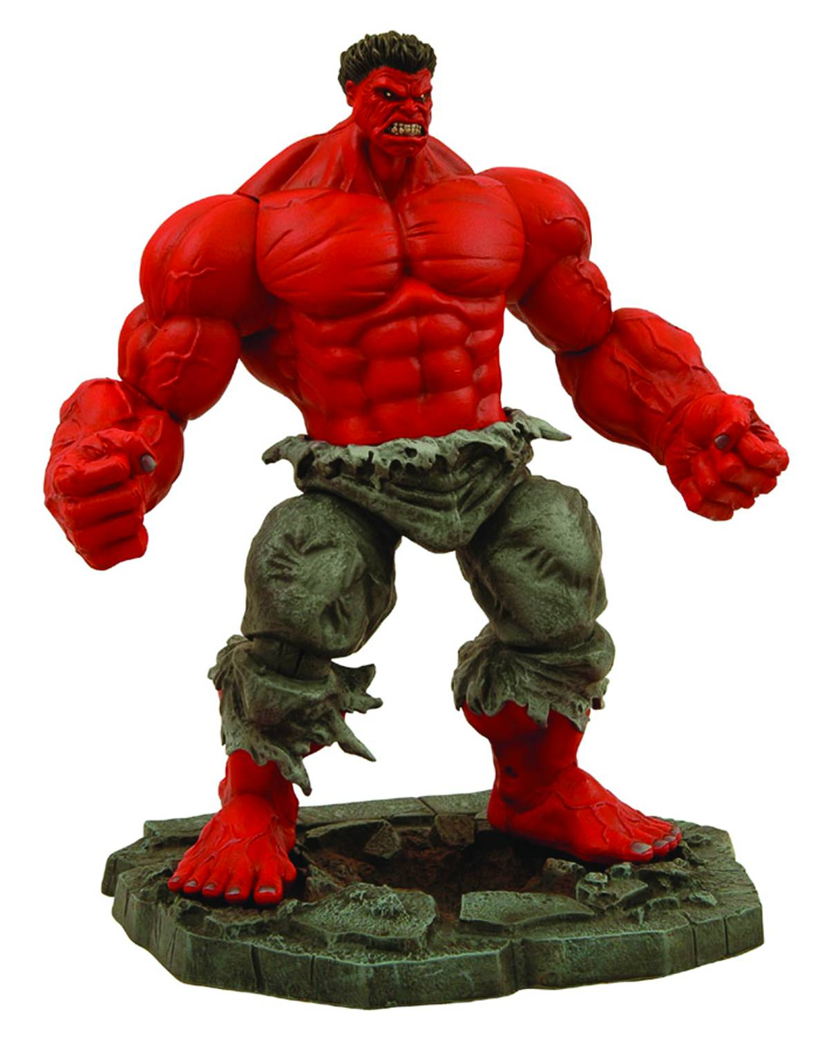 Marvel Comics Red Hulk Action Figure from Diamond Select Toys