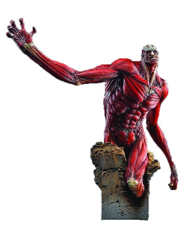attack on titan colossus titan statue figure from good