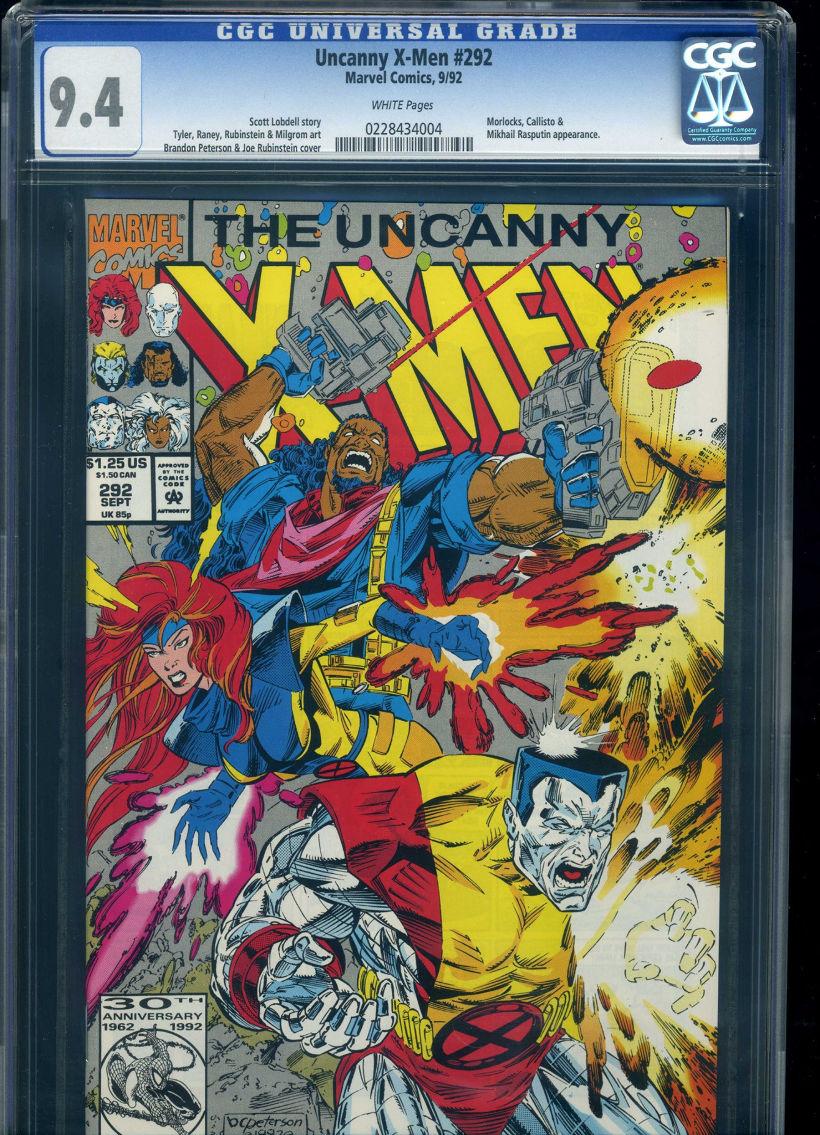 Marvel Comics Uncanny X-Men Issue 292 CGC Universal Grade 9 4