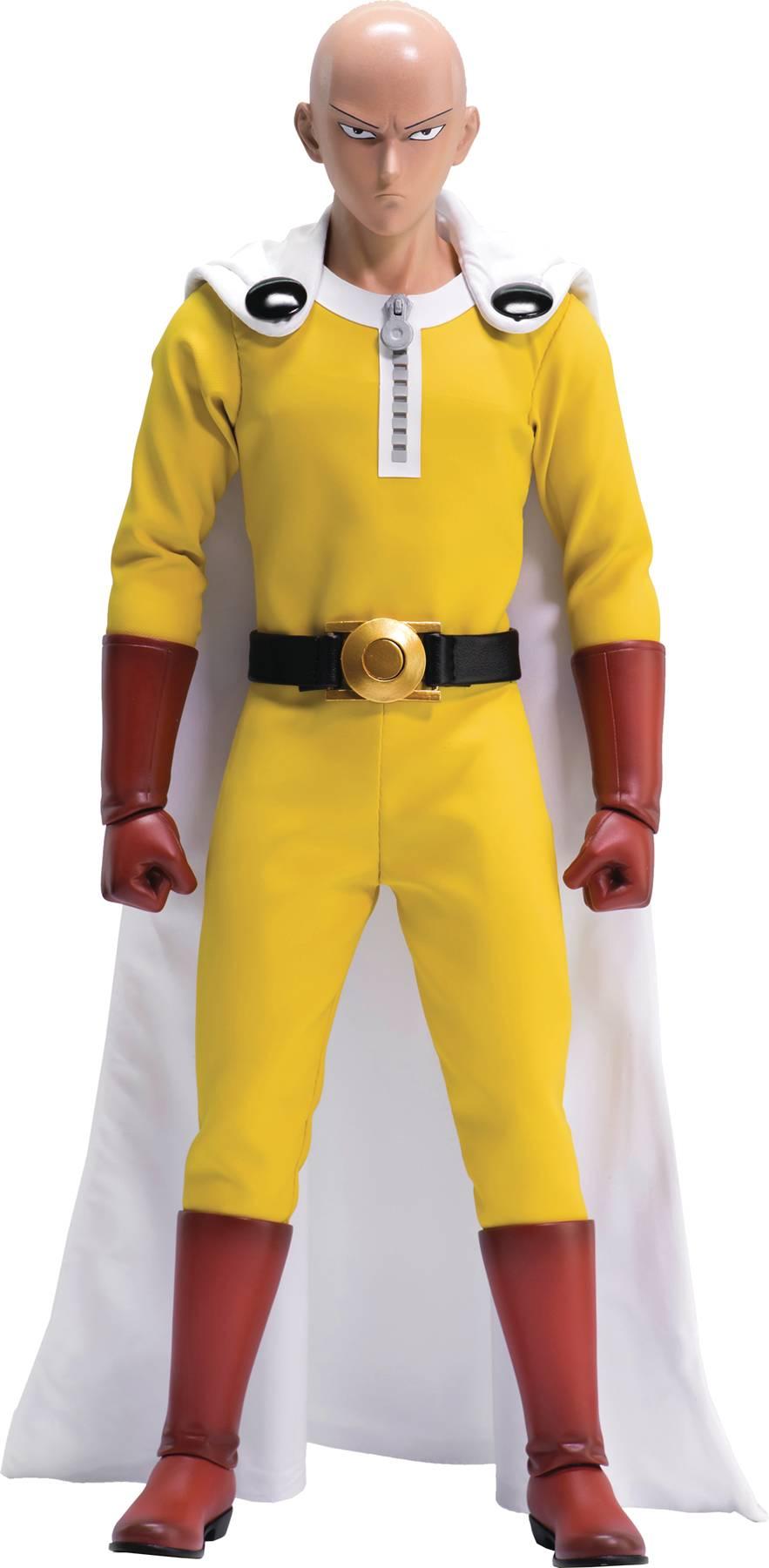 Saitama One Punch Man 1:6 Scale Action Figure By threeZero
