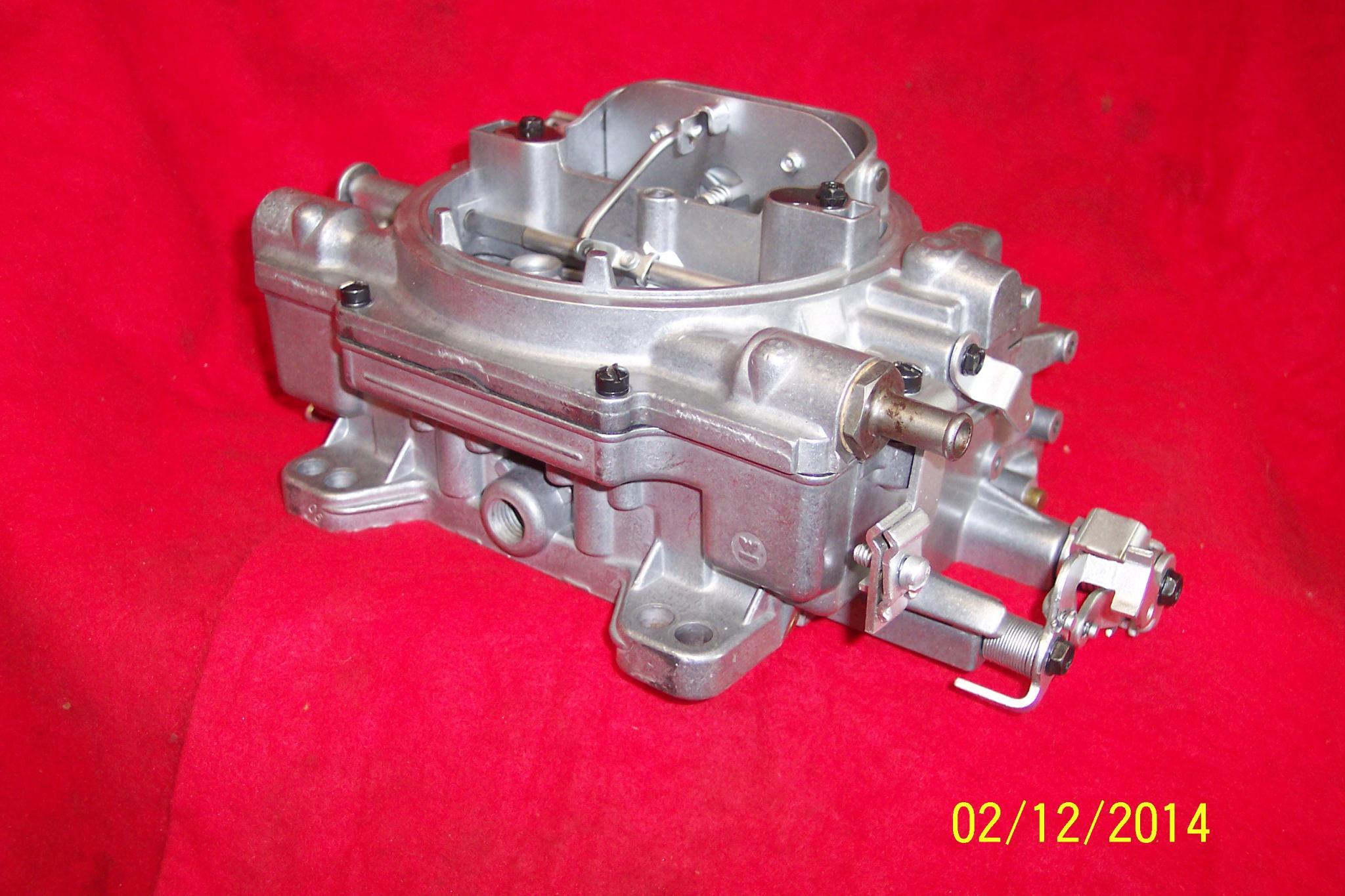 Holley 600 Cfm Carburetor On 73 Buick Vacuum Diagram
