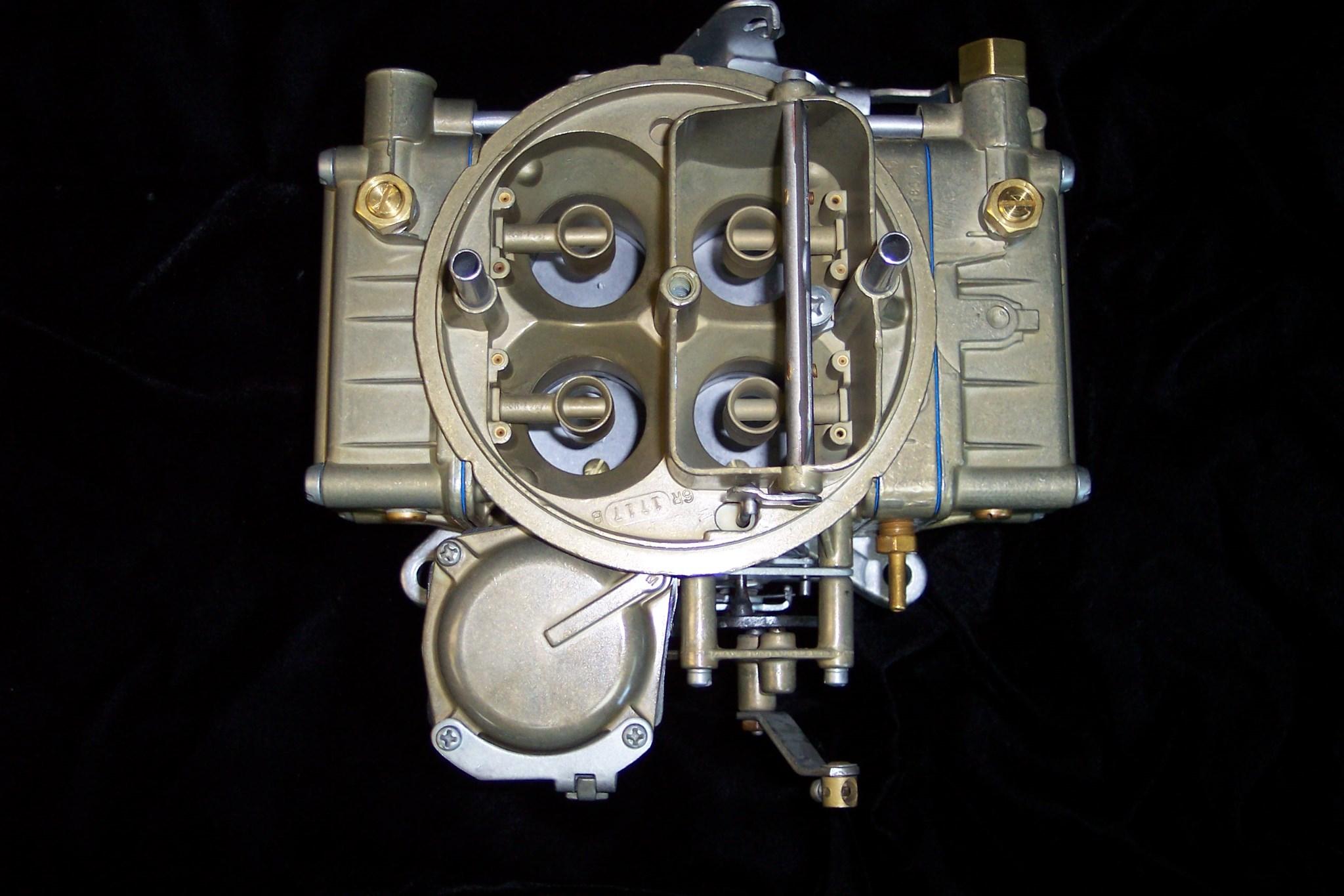 & Holley 600 CFM 1850-1