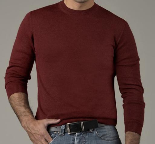 775206df43e9 Baby Alpaca Men s Crew Neck Sweater