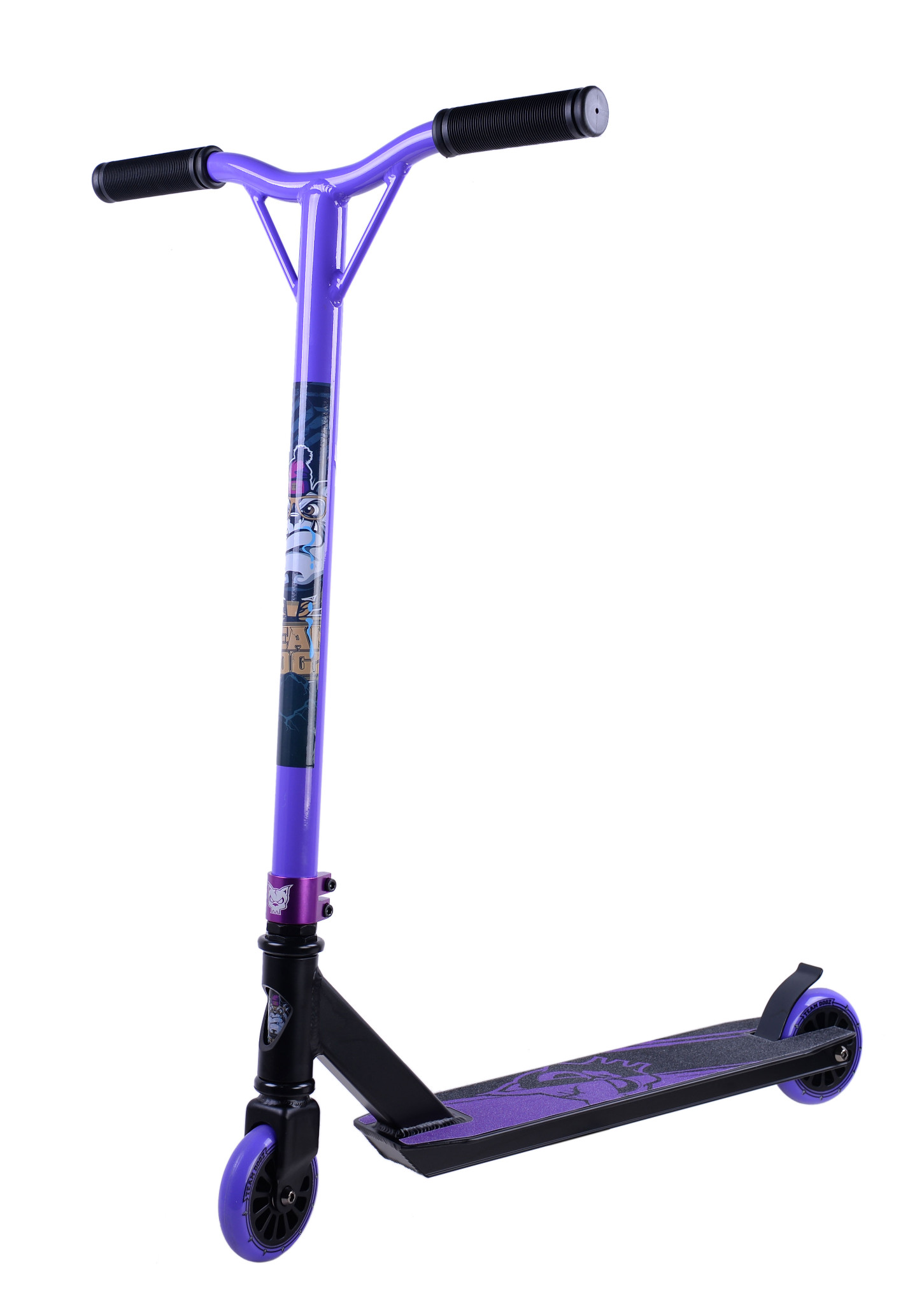 new x gen team dogz pro 3 stunt scooter 360 kids skate. Black Bedroom Furniture Sets. Home Design Ideas