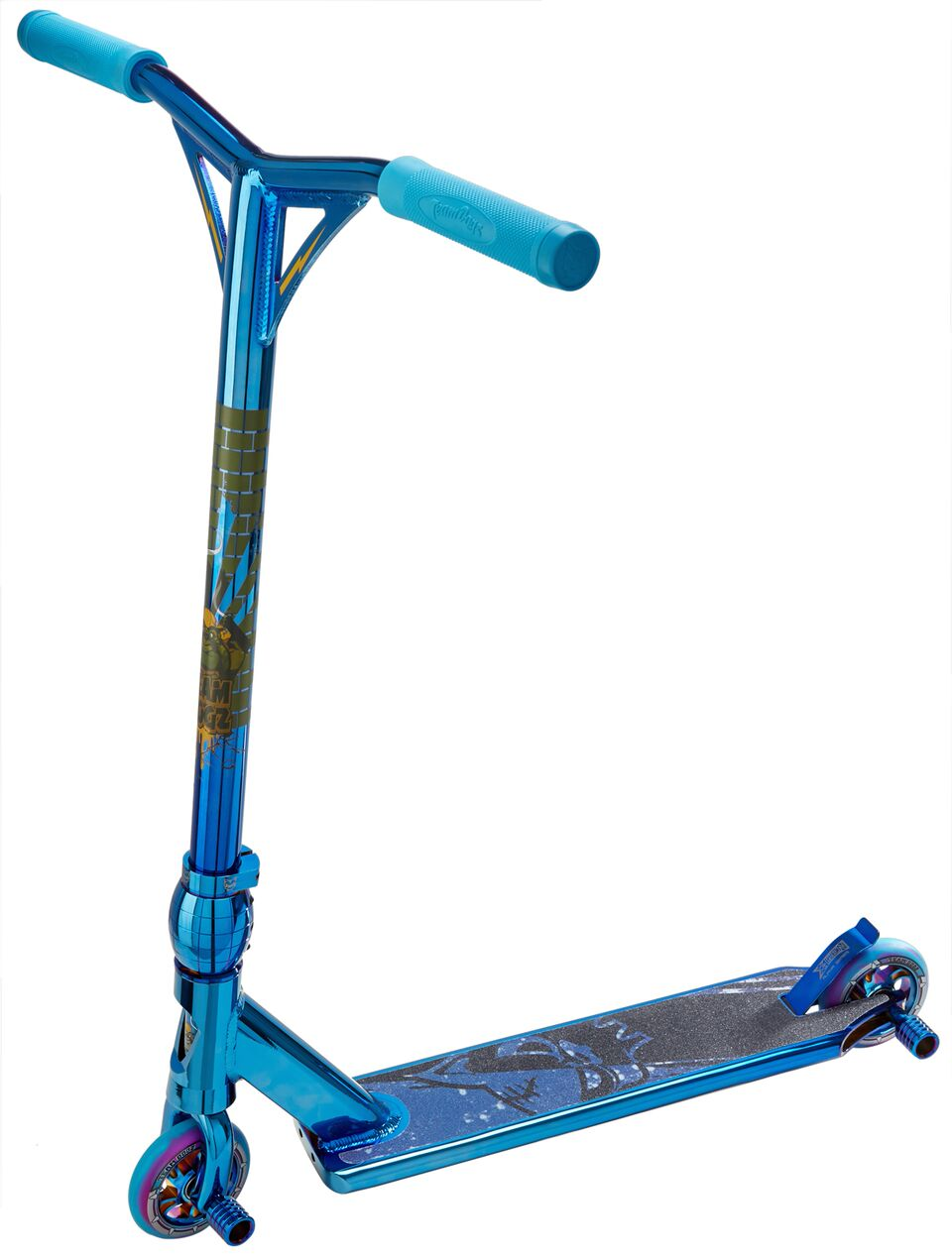 team dogz pro 4 blue chromo scooter. Black Bedroom Furniture Sets. Home Design Ideas