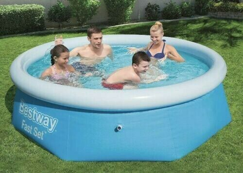 Bestway Fast Set Inflatable Family Childrens Paddling Pool BW57265