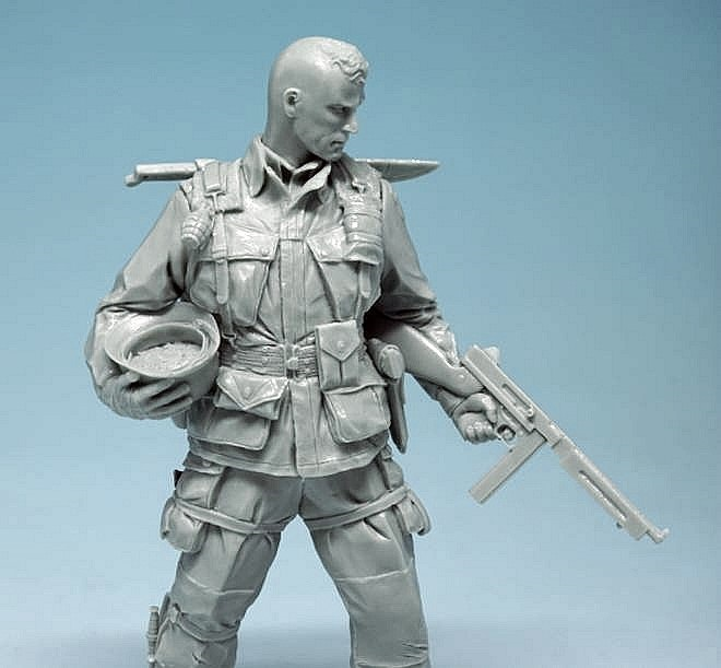 1st miniatures 1 16 u s paratrooper 101st airborne w for Mad motors st cloud