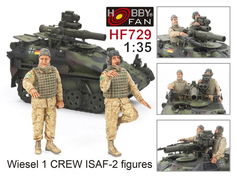 M 56 Scorpion For Sale In California: Hobby Fan 1/35 Wiesel 1 Crew ISAF 2 Figures 1/35 HF729
