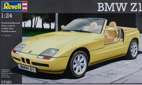 revell bmw z1 1 24 07361. Black Bedroom Furniture Sets. Home Design Ideas