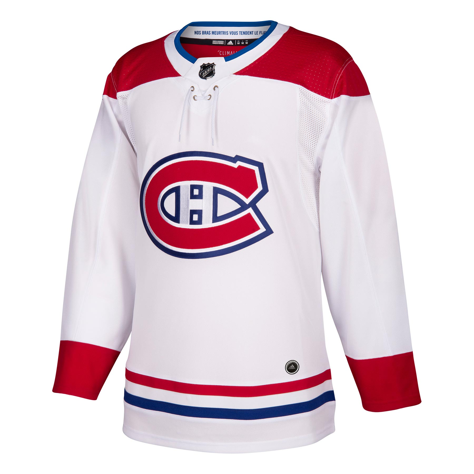Montreal Canadiens Adidas Authentic Jersey Away ADIZERO eda84db153b