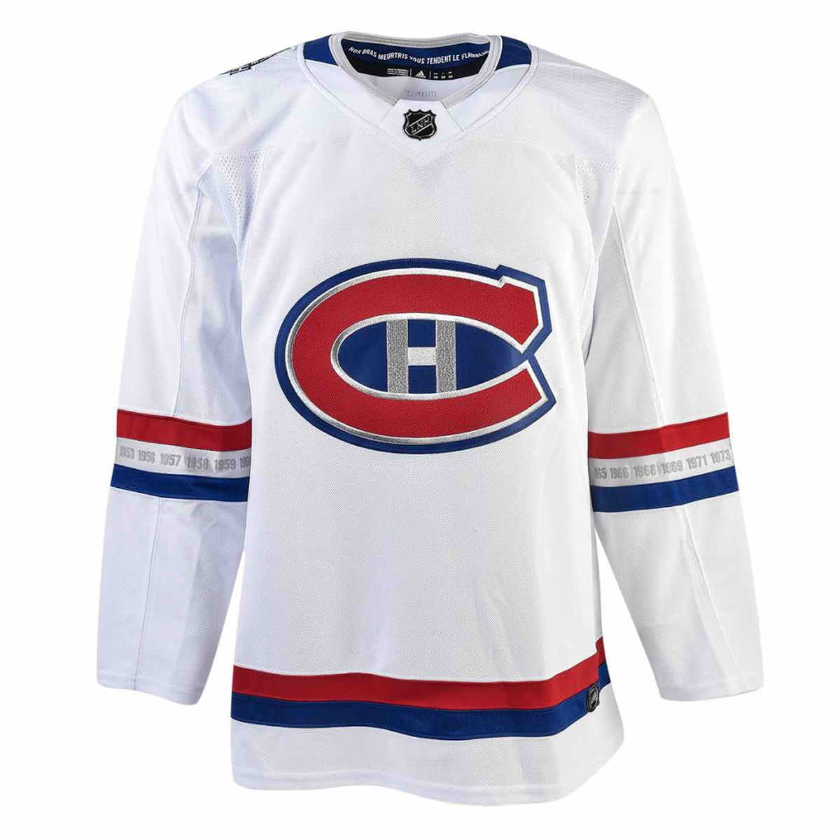c1260d2e26b Montreal Canadiens Youth adidas adizero NHL 100 Classic Authentic Pro Jersey