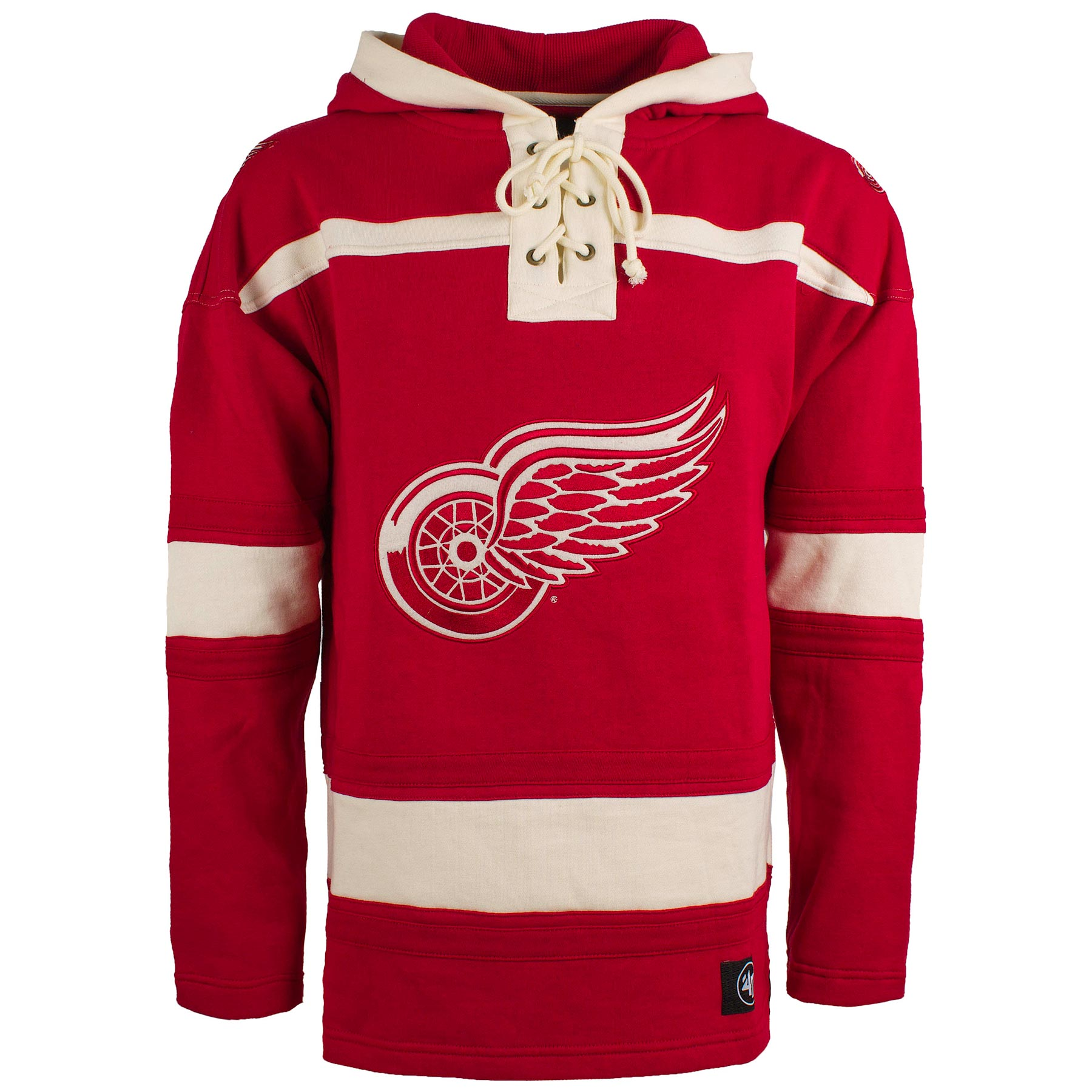 size 40 27b54 b7f37 Detroit Red Wings Retro Thermal Applique Long Sleeve T Shirt ...
