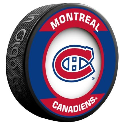 Montreal canadiens puck - Canadiens hockey logo ...