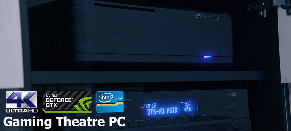 GTPC 970 - Gaming Theatre PC with Intel Skylake and Nvidia GTX Graphics